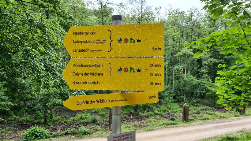 Wanderwege Naturpark Sparbach