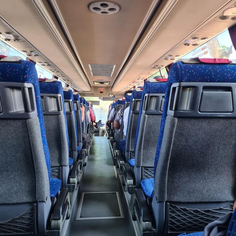 Busfahren Azoren Sao Miguel