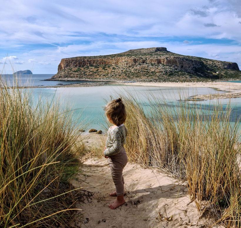 Schmusulina in der Bucht von Balos Beach