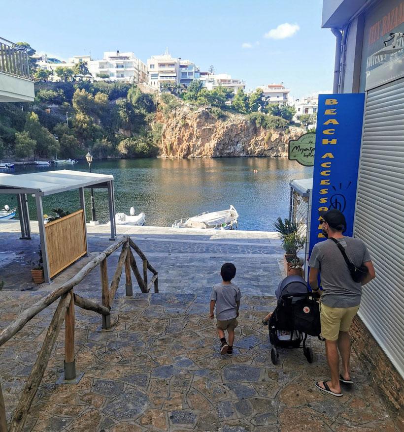 Spaziergang durch Agios Nikolaos