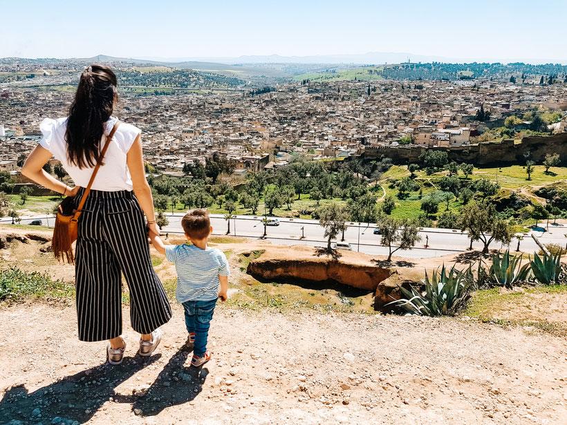 Marokko Kleinkind Familie Reisen Winter
