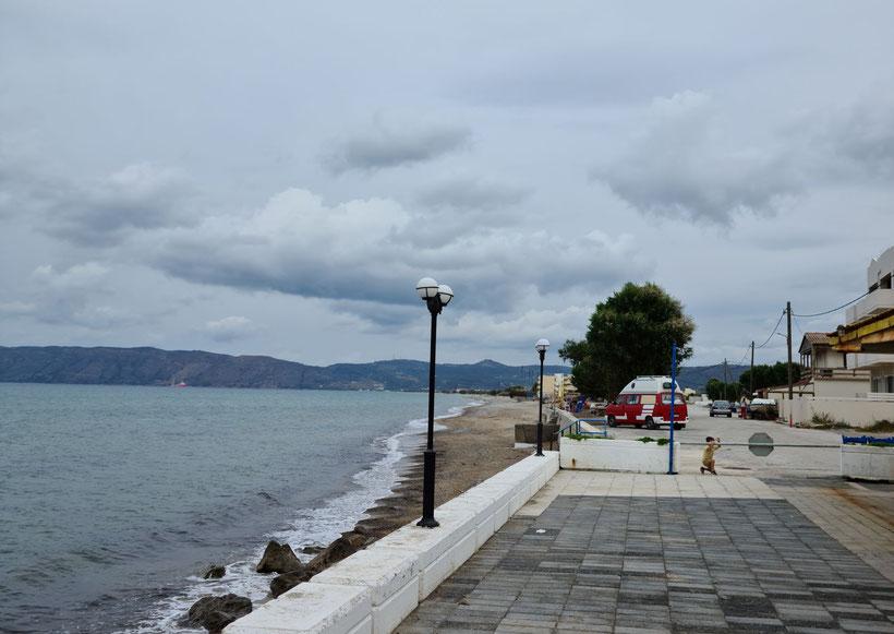 Strandpromenade von Kissamos