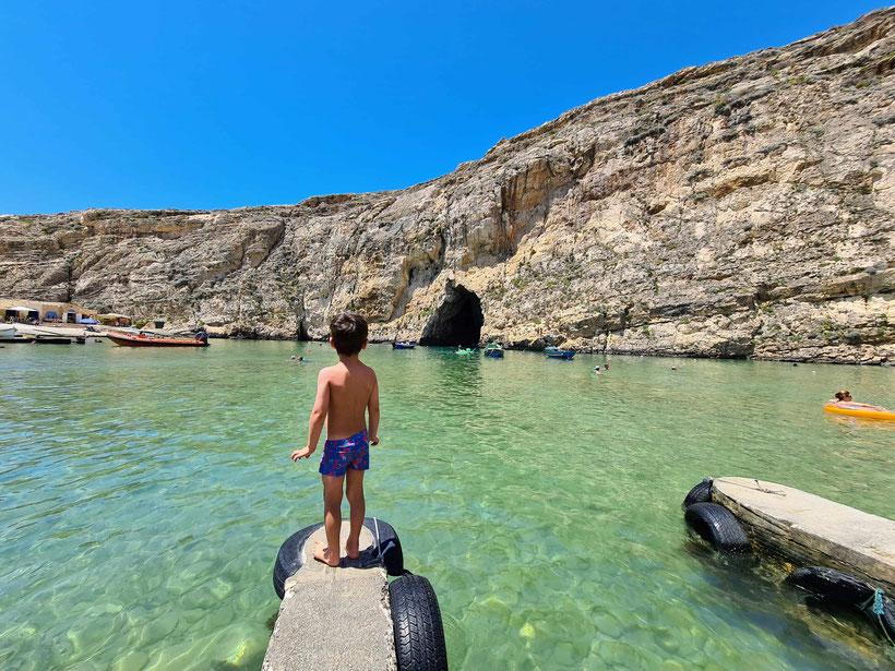 Malta Kleinkind Kind Baby Urlaub Familie