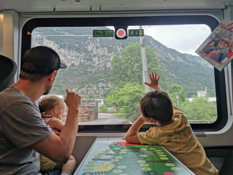 Kinderabteil Zug ÖBB