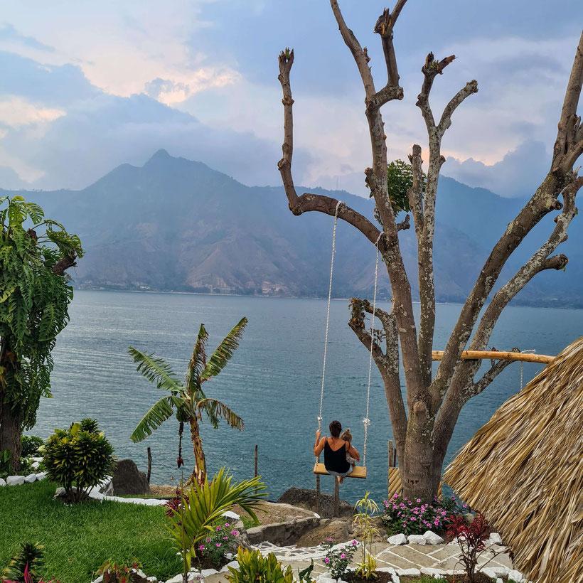 San Pedro Lake Atitlan Kleinkind Kind