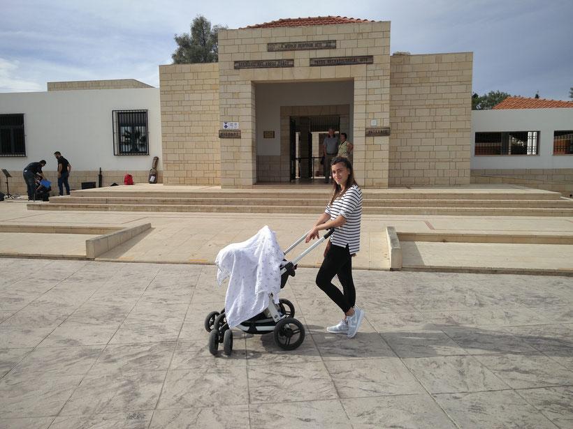Flugreise Zypern Baby