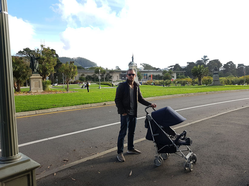 Golden Gate Park mit Buggy