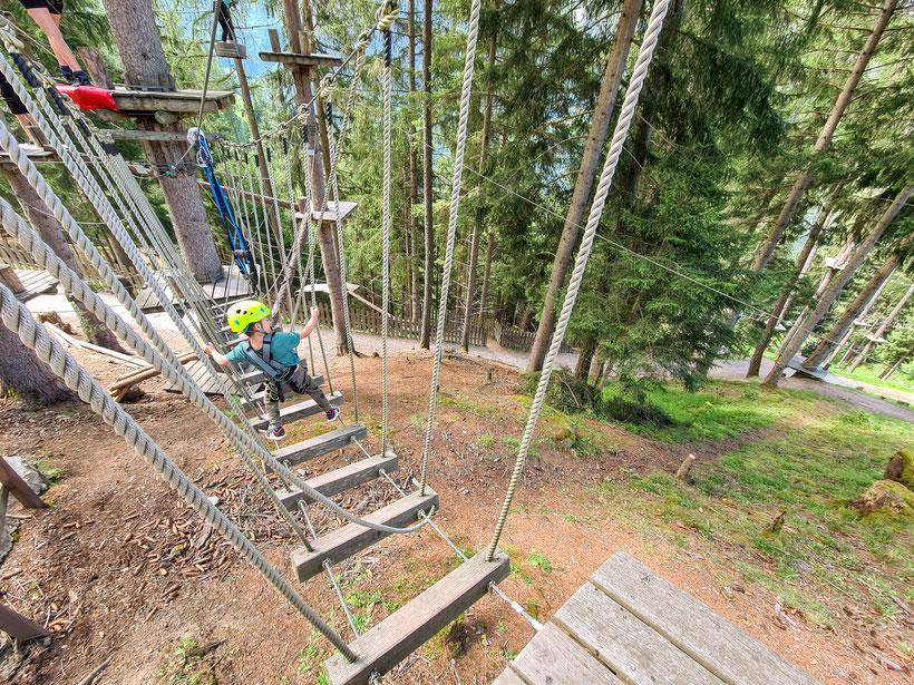 XP Abenteuerpark Jerzen Hochseilgarten Pitztal