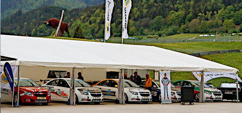 Rennfahrer aus Bad Salzuflen Dennis Bröker Chevrolet Cruze Eurocup 2019 Toyo Tires Oschersleben Pfister-Racing Tourenwagen
