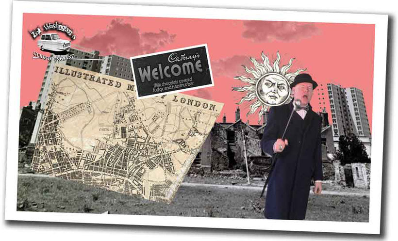 Photo of British culture: montage of British rock stars and film stars