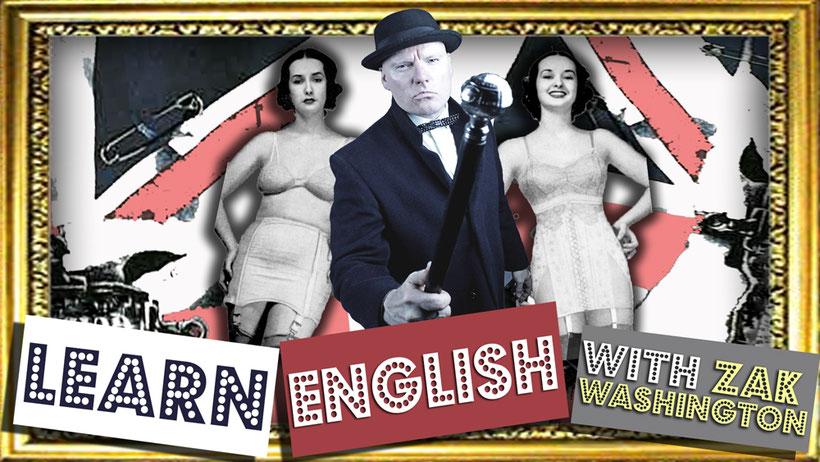 Learn English Language Speaking and Conversation practice with ZakWashington