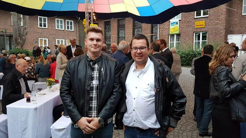 Bastian Danziger und Niklas Schneider