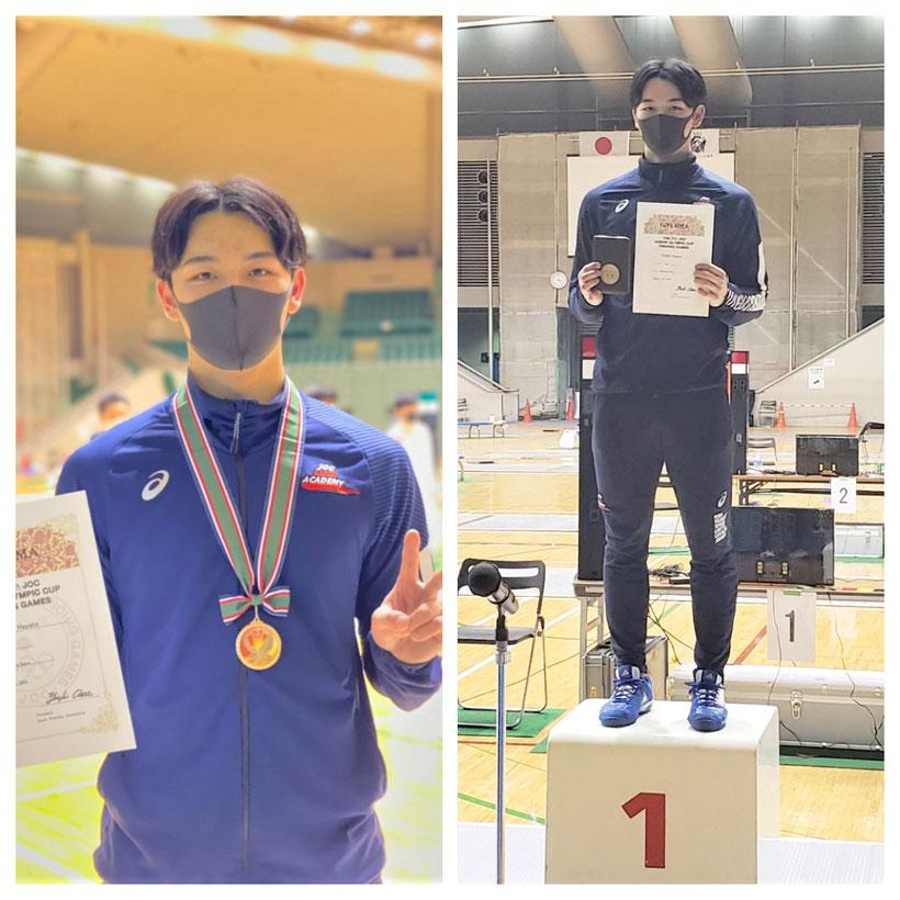 第28回JOCジュニア・オリンピック・カップフェンシング大会 ジュニア男子サーブル 優勝 坪颯登(つぼはやと)