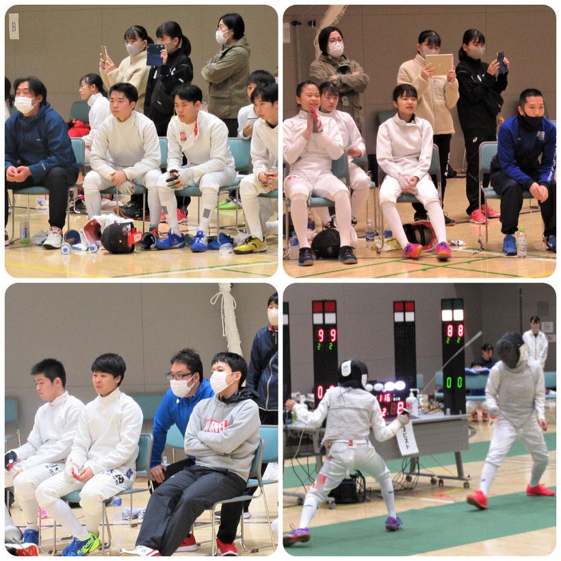 第55回秋季青森県高等学校フェンシング大会、第45回全国高等学校選抜フェンシング大会県予選会結果 大会風景