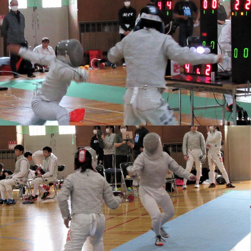 青森県高校夏季フェンシング大会(高校総体代替大会)