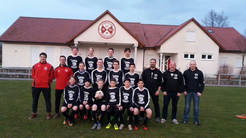 U 13 / 1 Saison 2015/16 (Kreisklasse) Chefcoach Daniel Hetzel