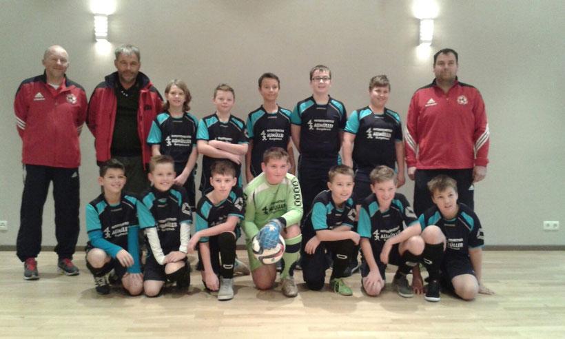 U 13 / 3 Saison 2015/16 mit den Trainern Matthias Aumüller und Udo Reuther