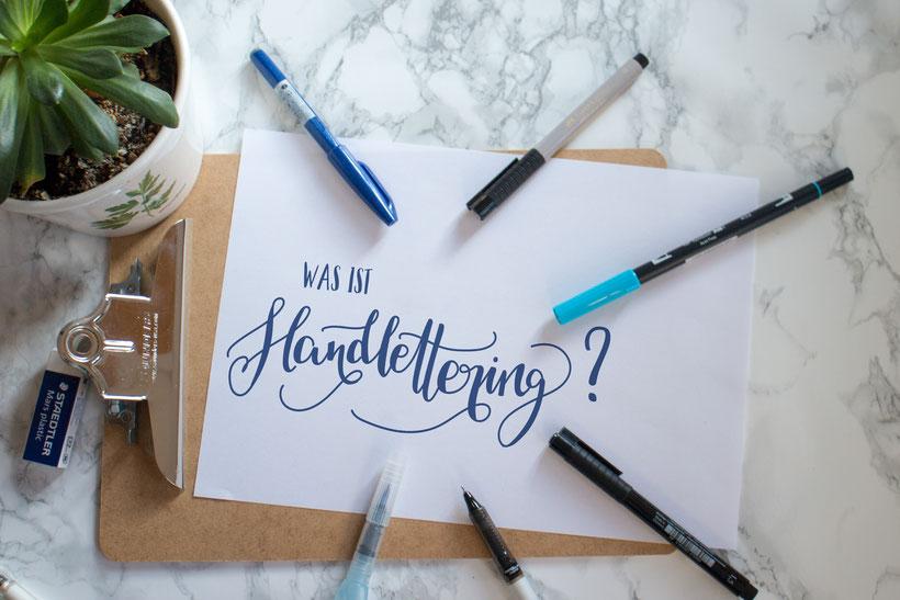 Was ist Handlettering?