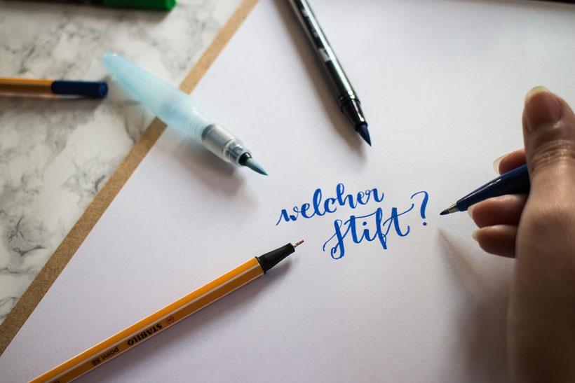 Welche Stifte benötige ich für den Anfang?