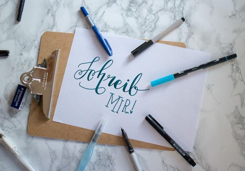 Schreib mir eine Nachricht