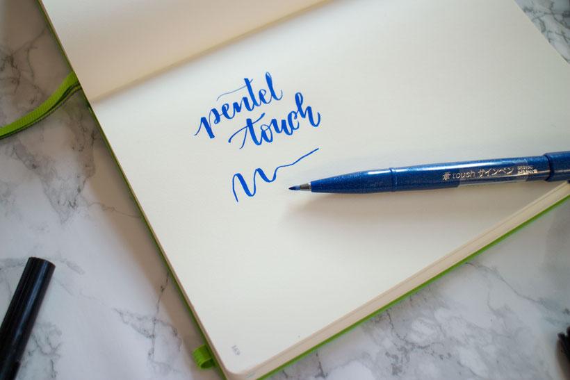 Pentel Sign Pen, ein Brush Pen