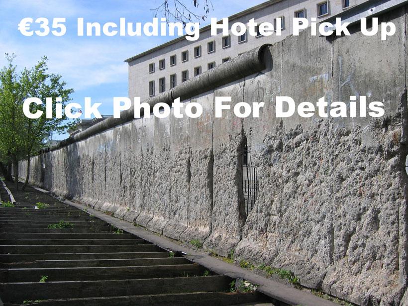 Berlin Wall as seen on English Speaking Tours Berlin