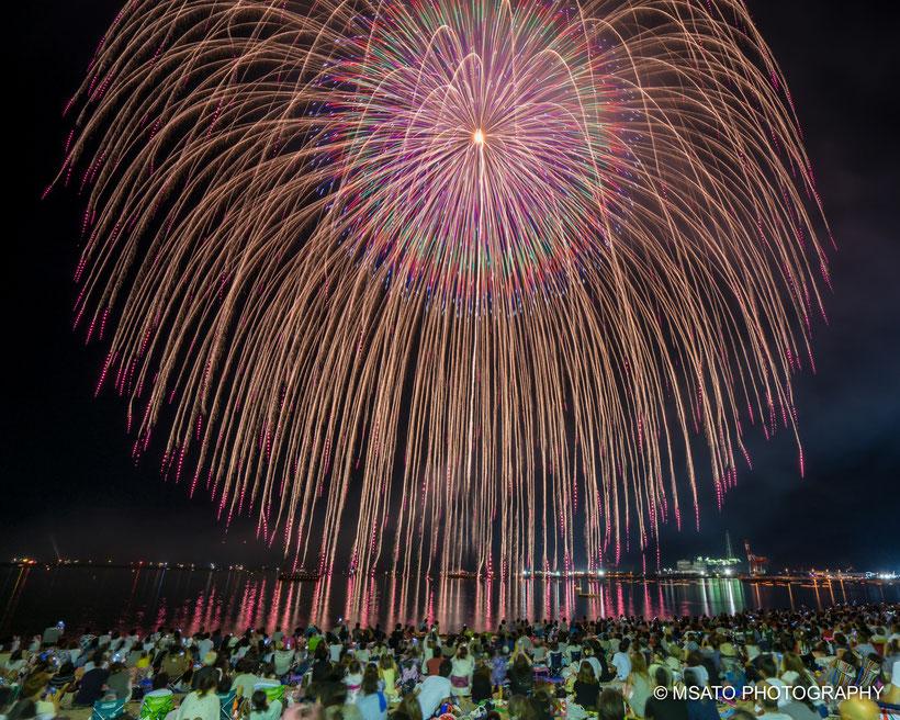#Japan #Fukui_province #Tsuruga_city #festival #hanabi #fireworks #fogos_de_artificio