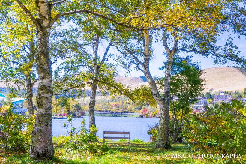 Lago Shirakaba, Shirakabako, Nagano, Chino, Japão, turismo, viagem, Guia turistico, guia fotografico, viajando com a câmera na mão, Matsuo Sato, Focus Japan