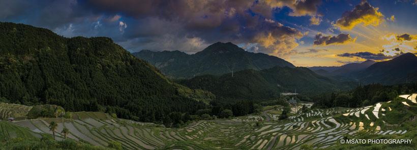 arroz, maruyama, mil canteiros, senmaida, rice Terrace, Japan, Kumano, Mie.