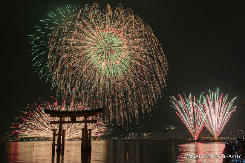 #Japan #Hiroshima #Miyajima #Utsukushima #sanctuary #festival #hanabi #fireworks #fogos_de_artificio