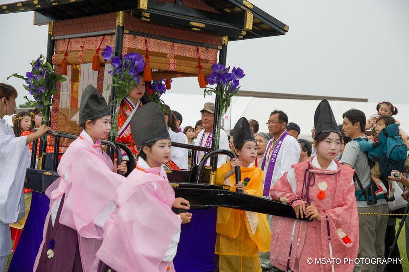 Saiku,  Saiō, Ise_sanctuary, Taki city, Mie province, Japan, festival, Itsukinomai,