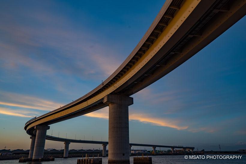 #Inaba #ponte #yokkaichi #yokkaichi_port #japan #sonyuser #mie_prefecture #por_do_sol