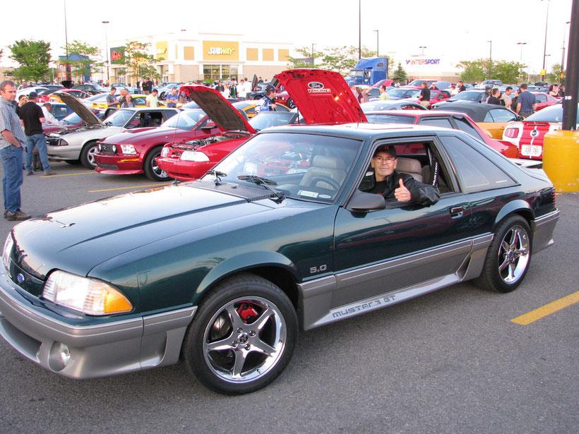 Mustang GT 5.0 1991 de André Lamoureux à Ste-Dorothée