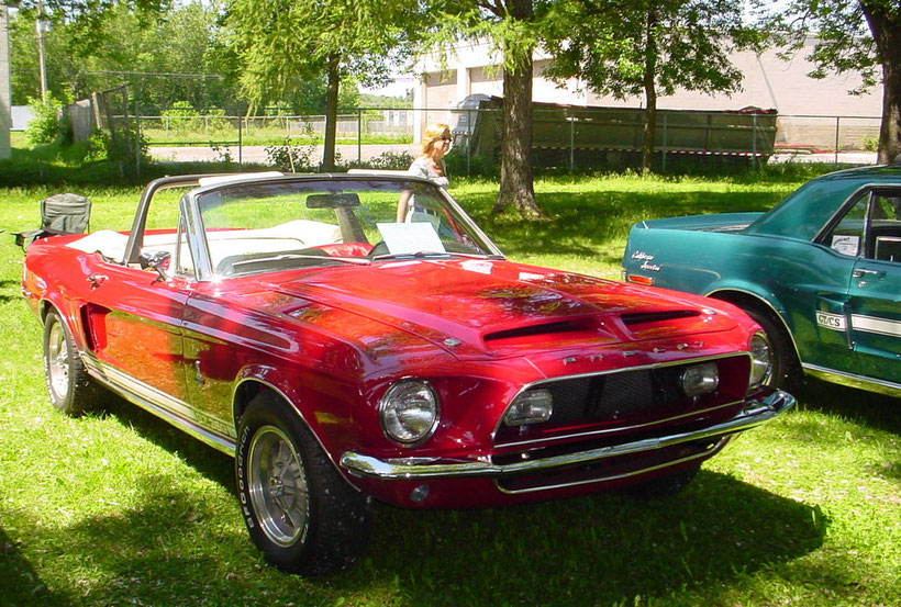 Mustang Shelby GT350 1968