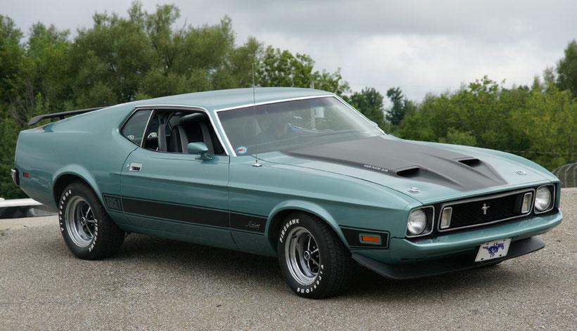 Mustang Mach1 1973 moteur 429 de Daniel Duc