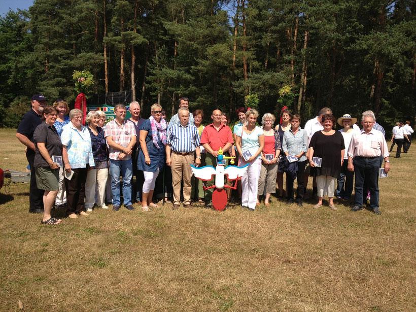 40 Jahre Dorfgemeinschaft Klein Wesenberg