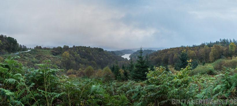 Trossachs,loch,venachar,schottland,Panorama,Aussicht,view,tipps