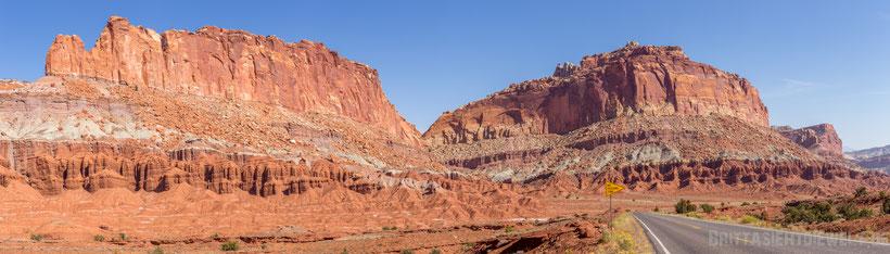 capitol,landscape,reef,nationalpark,capitolreef,wandern,hiking,panorama