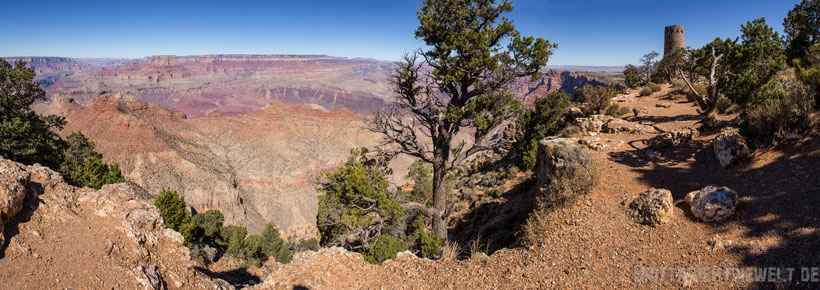 Grand,canyon,desert,view,point,turm,tipps,herbst,oktober,usa,südwesten,rundreise,camper,jucy,campervan,arizona
