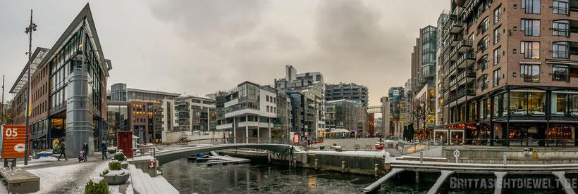 aker,brygge,sightseeing,oslo,museum,tipps,winter,panorama