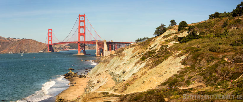 san,francisco,golden,gate,bridge,holding,tower,panorama,baker,beach,costal,trail,lands,end