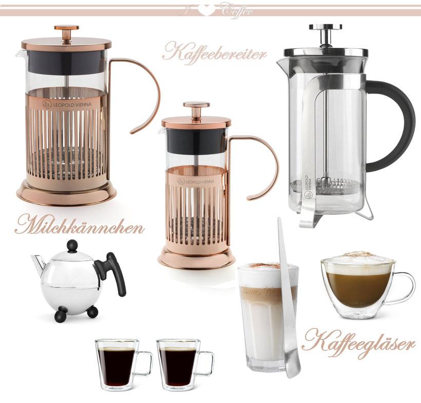 doppelwandiges Kaffeeglas, Espressogläseraus Borosilikatglas, Latte Macchiato Glas, retro Kaffeebereiter, moderne Frenchpress