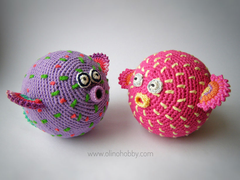 Crochet Puffer Fish