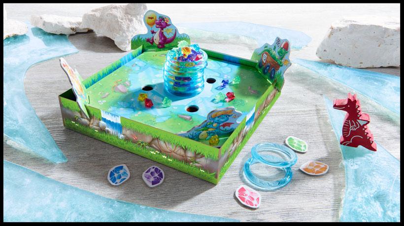 Gute Brettspiele für Kinder: Funkelschatz von HABA