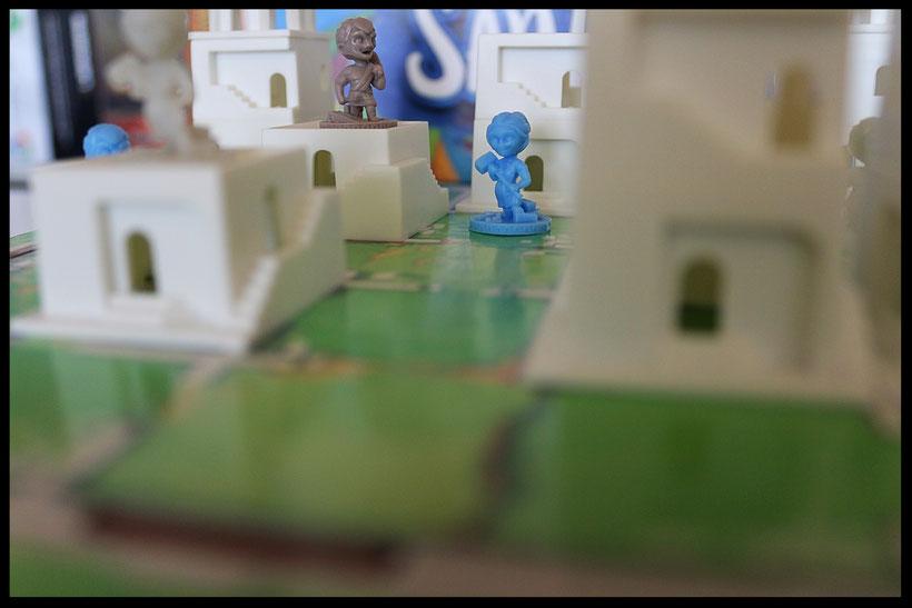 Das Brettspiel Santorini im Test