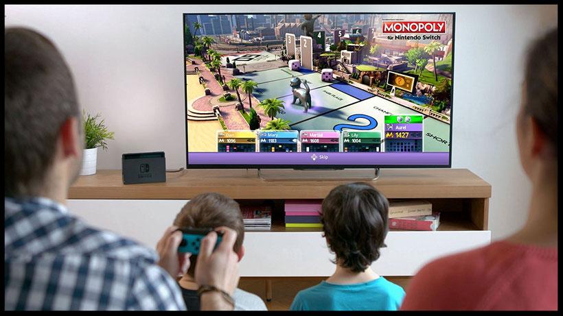 Brettspiele für Nintendo Switch: Monopoly von Ubisoft