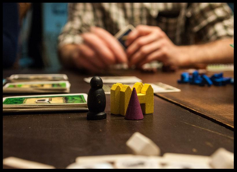 Gesellschaftsspiele als Gemeinschaftserlebnis