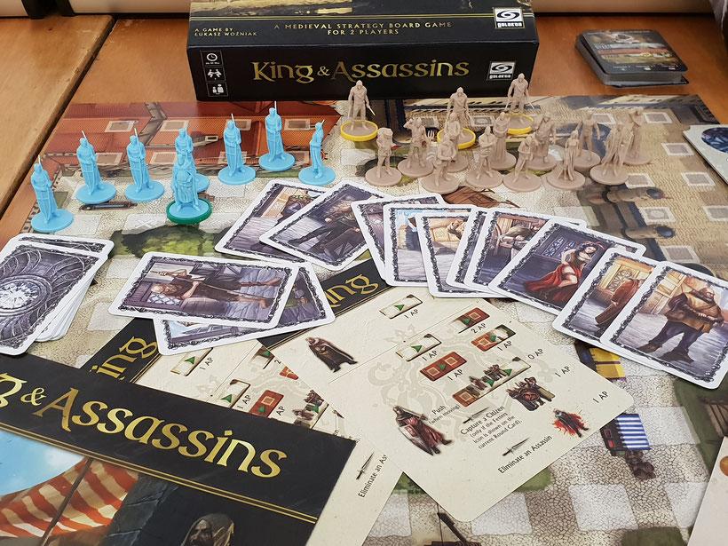 Kings and Assassins Brettspiel auf der SPIEL'18