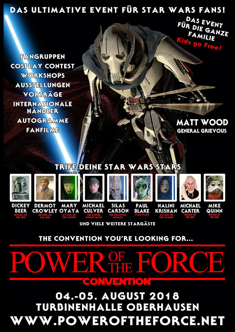 Power of the Force Convention 2018 in Oberhausen