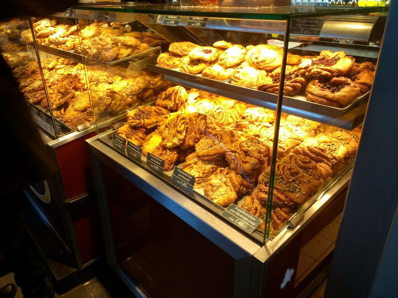 Lovely pastries everywhere!